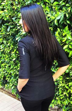 Sandra Harvey Classic Brigade Fitted Chef Coat for Women short sleeve in Black or White. A perfect gift for the Chef,  Baker, Caterer,  culinary student. www.sandraharvey.com  Multiple style chef coats and jackets, chef pants, aprons, and more