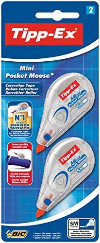 Tipp-Ex Mini Pocket Mouse Correction Tape (Pack of 2)
