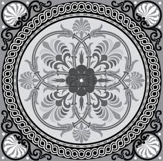 ISLAMIC BORDER: Patrón sin fisuras stock vector, utilizar para el fondo de azulejos, escala de grises Vectores
