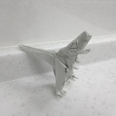 #origami T-REX