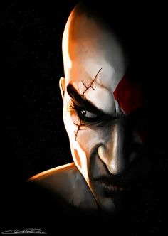 God Of War, Gaming Memes, Joker, Fan Art, Movies, Movie Posters, Fictional Characters, Image, Games