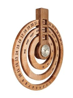 Teds Wood Working - Calendar (date, month, day of week) and clock - Get A Lifetime Of Project Ideas & Inspiration!