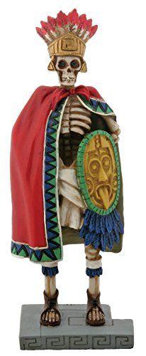 6.75 Inch Cold Cast Resin Day of the Dead Skeleton Aztec ... http://www.amazon.com/dp/B00EHZ8XL2/ref=cm_sw_r_pi_dp_wjJuxb1R8D9X2