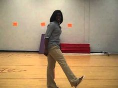 ▶ Five easy steps to the Electric Slide...mp4 - YouTube