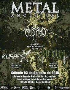 Metal Ancestral http://crestametalica.com/events/metal-ancestral/ vía @crestametalica