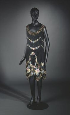 Evening dress, no medium available, French, 1925