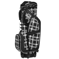 Duchess Block/White Cart Golf Bag by Ogio Ogio Golf Bags, Golf Holidays, Christmas Holidays, Merry Christmas, Ladies Golf Bags, Golf Stand Bags, New Golf, Golf Lessons, Golf Accessories