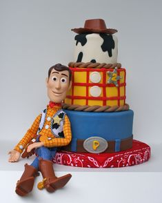 Toy Story's Woody cake