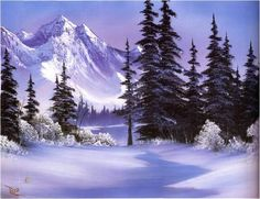 Best of Joy of Painting with Bob Ross bob ross paintings for sale Ken Bromley Art Supplies The Best of Joy of Painting with Bob Rossbob ross paintings for sale Ken Bro. Pinturas Bob Ross, Winter Landscape, Landscape Art, Landscape Paintings, The Joy Of Painting, Bob Ross Paintings, Paintings For Sale, Bob Ross Original Painting, Original Paintings