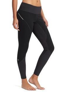 Wind Warrior Tight - Hit up the winter trails and windy conditions with the ultimate training tight made from super supportive compression fabric and wind-resistant panels for total forward momentum.