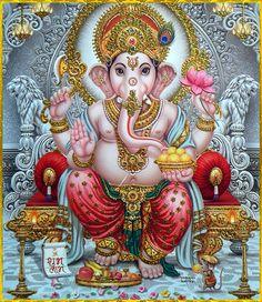 Lord Radha Krishna Love Images Full Size Photo Gallery of Shri God Shri Ganesh Images, Ganesh Chaturthi Images, Ganesha Pictures, Shiva Art, Krishna Art, Hindu Art, Ganesh Lord, Sri Ganesh, Ganesha Painting