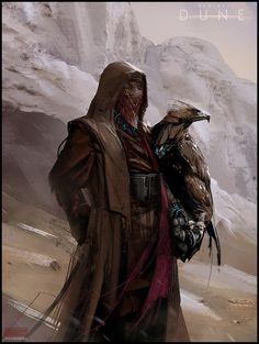 Dune_Fremen_Eagle_Hunter_MarkMolnar   Project Dune