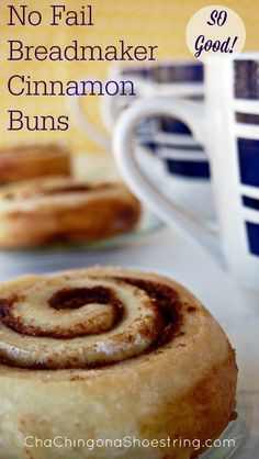 These ooey, gooey Breadmaker Cinnamon Buns are melt in your mouth perfection. And top it all off - they are incredibly easy to make!