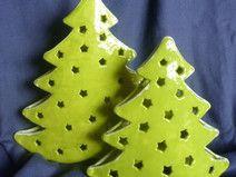 Weihnachtsbäume für Teelichter