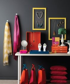Merchandising fashion with lifestyle props and products