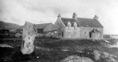 Tour Scotland Photographs: Old Photograph Kilbride South Uist Scotland