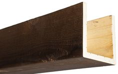 Our box beams provide all of the characteristics of a solid wood beam, at a fraction of the weight! Always made from real oak or cedar, 15 colors. Faux Ceiling Beams, Faux Wood Beams, Cedar Box, Wood Sample, Home Ceiling, Wood Siding, Custom Boxes, Wood Boxes, Ceiling Design