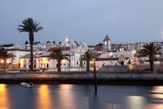 Lagos at dusk, Algarve. Portugal