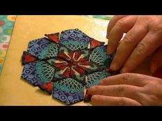 ▶ English Paper Piecing: Fussy Gluing - YouTube