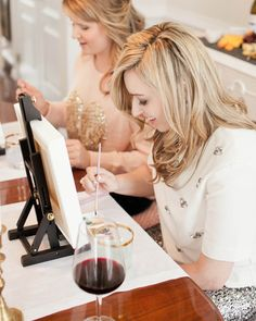 These alternative bridal shower ideas will switch things up from the rest of your traditional wedding party planning. Floral Arrangement Classes, Pre Wedding Party, Wedding Ideas, Painted Wedding Cake, Painting Shower, Traditional Wedding, Party Fashion, Maid Of Honor, Bridal Shower