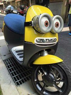 Minion scooter :-)