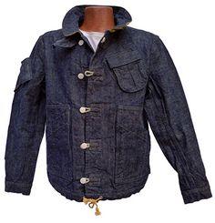 Watchman Jacket Okinawa Denim