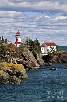 ✮ Head Harbour Light, Campobello Island, New Brunswick, Canada