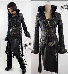 Y261B Punk Visual Kera Dolly Gothic Lolita Jacket Coat | eBay