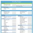 31 Days of Home Management Binder Printables: Day #6 Monthly Bill Pay Schedule | Organizing Homelife