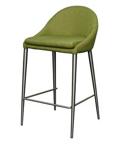 Look at this Lime Zane Counter Stool - Set of Two on #zulily today!
