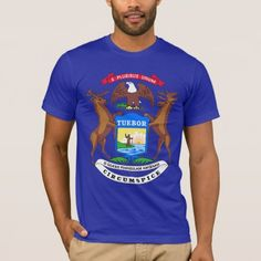 Shop Michigan State Flag T-Shirt created by mcgags. Personalize it with photos & text or purchase as is! Michigan State Flag, Types Of T Shirts, American Apparel, Funny Tshirts, Fitness Models, Tees, Mens Tops, How To Wear, Flags