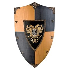 "imagesofshields | Suits of Armour ""Toledo Eagle"" Wooden Shield"