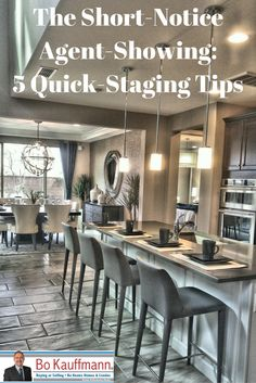 Unexpected Showing - 5 Quick How-To Home Staging Tips For Sellers Don't turn them away! Here are some quick-staging tips to get your home looking its bestDon't turn them away! Here are some quick-staging tips to get your home looking its best Selling Home By Owner, Selling Your House, Home Renovation, Home Remodeling, Dusty House, Shabby Chic Banners, Home Staging Tips, Sell Your House Fast, Sell House