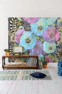That Boho Chick: Decorate The Walls