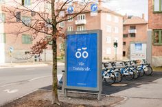 Oslo Bysykkel visual identity - Agency: Heydays ____ Arthur and Puff are everywhere … Facebook | Stampsy | Tumblr | Soundcloud | Pinterest | Instagram