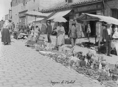IMAGENES ANTIGUAS DE MADRID: EL RASTRO 1914