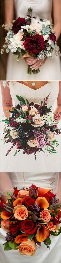 fall wedding bouquet ideas #weddingideas #weddingdecor #fallwedding #autumnwedding