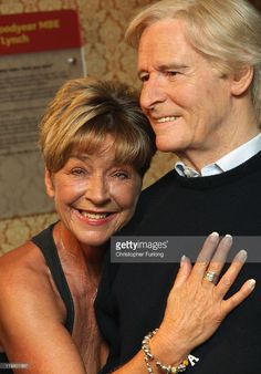 Coronation Street actress Anne Kilbride comes face to face with a wax work model of her street character husband Ken Barlow on July 25, 2011 in Blackpool, England. Two wax work figures of Coronation Street's Deirdre and Ken Barlow are the latest celebrity fascimiles to be unveiled at Madame Tussauds Blackpool