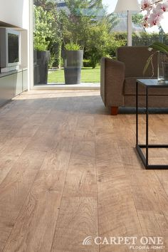 Vinyl flooring is beautiful, affordable and durable. It can even look like hardwood.