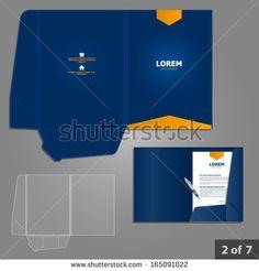 Stock Images similar to ID 114334573 - business identity. folder...