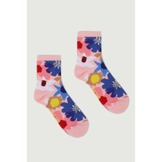 Geo Flower Socks  De