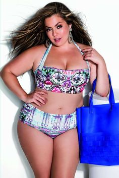 plus size lingerie 2016 | Moda Praia Plus Size por Fluvia Lacerda by Melinde Brasil