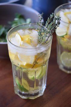 Whiskey Lemon Cooler
