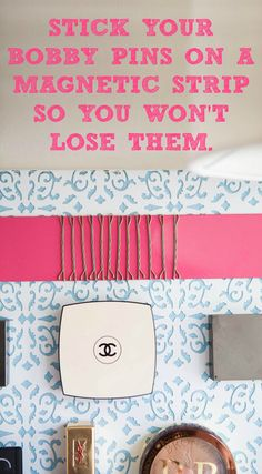 Never lose your bobby pins again!