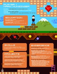 character artist resume resume gaming designer resume