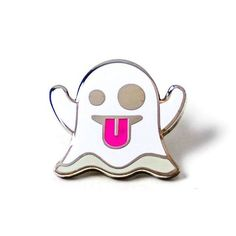 Ghoulish Emoji Pins