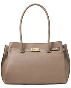 ceee2098225e Michael Kors Addison Pebble Leather Tote & Reviews - Handbags & Accessories  - Macy's