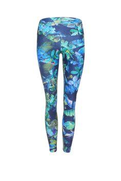 Mystic Jungle High Waist Printed Yoga Legging - 7/8 – Dharma Bums Yoga and Activewear