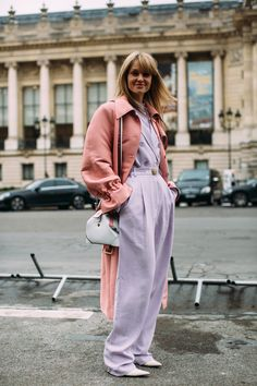 Paris Fashion Week Street Style Fall 2018 Day 3 Cont. - The Impression