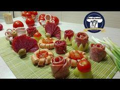 Aperitive de sarbatori si ocazii speciale,foarte usor de realizat - YouTube Finger Food Appetizers, Finger Foods, Appetizer Recipes, Egg Recipes, Cooking Recipes, Party Trays, Cordon Bleu, Party Entertainment, Charcuterie